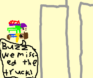 we re not aiming for the truck crash to 911 drawception