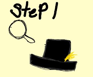 step 1: find hat