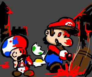 Paper Mario: Blood Splash!