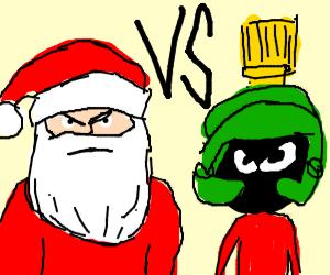 Santa vs the Martians