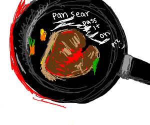 Pan Sear Pass it on