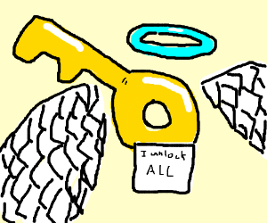 The sacred key that unlocks all
