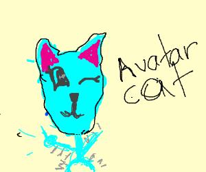 dancing avatar cat