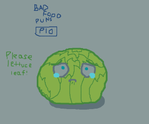 Bad food puns PIO