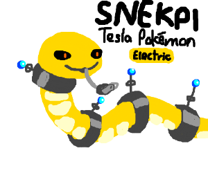 Snekpi - The New Electric Type Pokemon