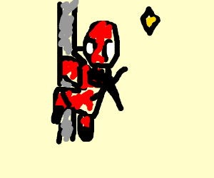 pole dancing deadpool