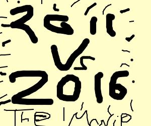 2011 vs 2016, coming soon to a theatre near u