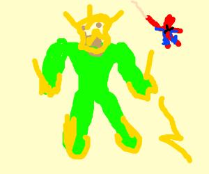 A very unknown Spiderman villain
