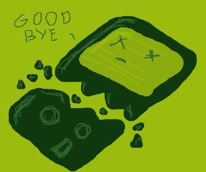 MAAAMAAA!!!!! My Gameboy Broke!!!