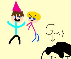 Guy hates parties