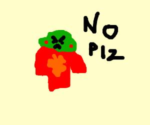 caliborn saying no please