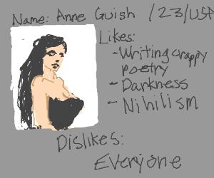 Goth girl dating website