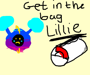Nebby and Lillie swap places