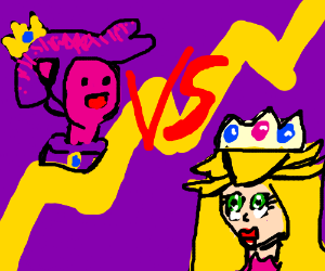 Princess Peach VS Prince Bubblegum