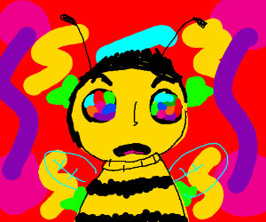 Bee movie on drugs x 2