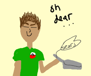 Brock S Drying Pan Drawception