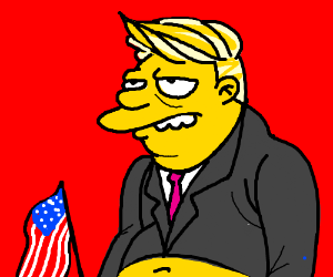 Barney Gumble becomes US president
