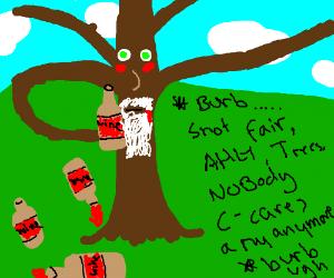 Treebeard getting drunk