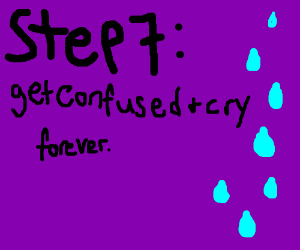 Step 6 go back and do step number 4
