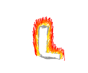 This L Is On Fire Drawception