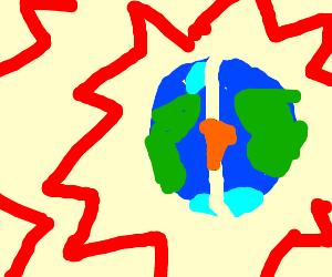 Bad Breath Makes Earth Explode