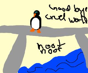 mr noot jumps off bridge to kill himself