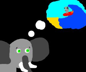 Elephant has Veitnam Flashback