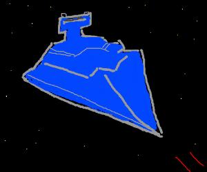 Blue star destroyer