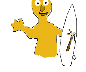 yellmo is a cool surfer dude