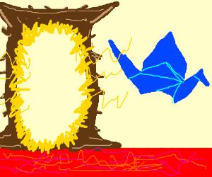Origami Crane of Oblivion