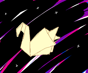 Space-time origami