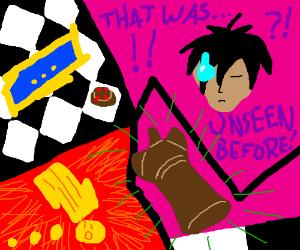 Intense chess anime