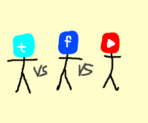 Twitter vs Facebook vs Youtube