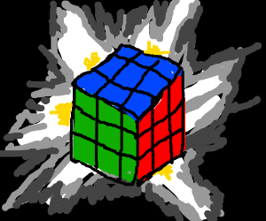 If you solve a Rubik's Cube, it leaves reality