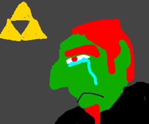 Human Ganondorf is sad.