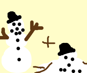 The life and death of a snowman.