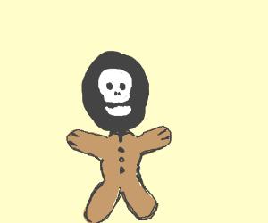 Circus Skull Doll