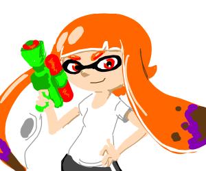 Just your average Squid-kid