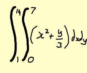 double integral