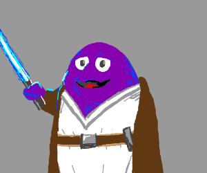 The force is strong with Grimace.