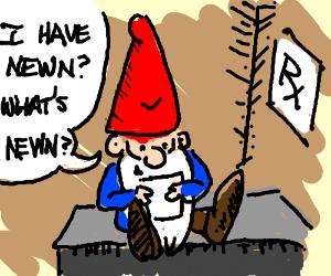 Gnome has newn
