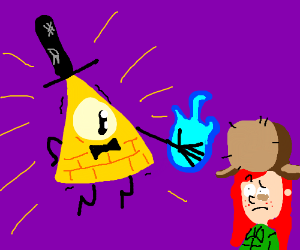 Bill Cipher and Wendy