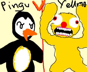 Pingu vs Yellmo