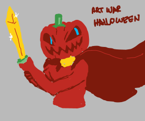 Art War's Fan Winner is Halloween... AGAIN!