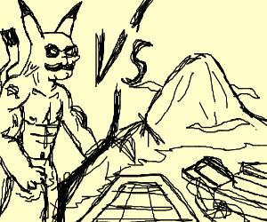 DEATH BATTLE: Macho Pikachu vs. Machu Picchu