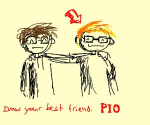 Draw Your Best Friend Pio Drawception