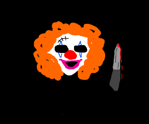 Bleeding Clown