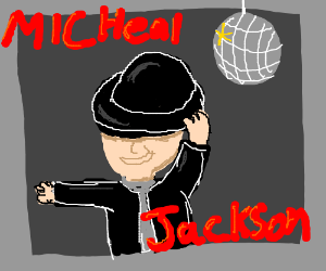 micheal jackson album cover