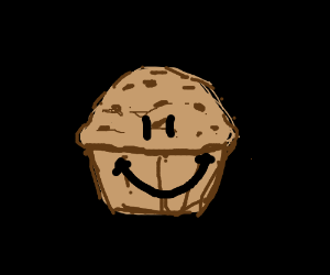Grinning muffin