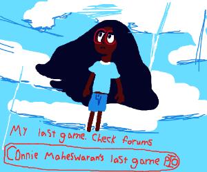 Connie Maheswaran's last game PIO